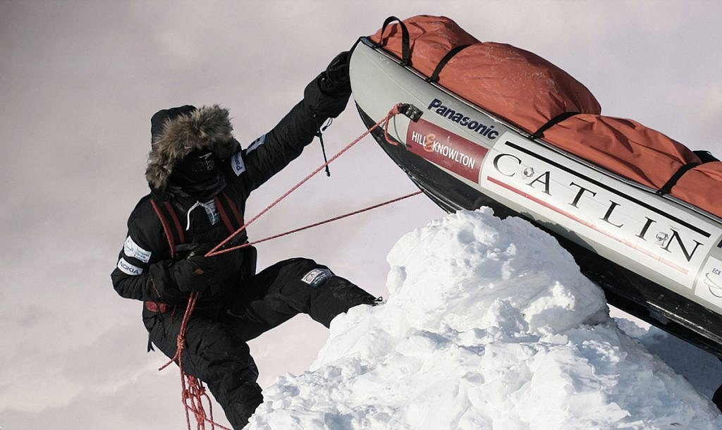 Catlin Arctic Survey on the Arctic Ocean