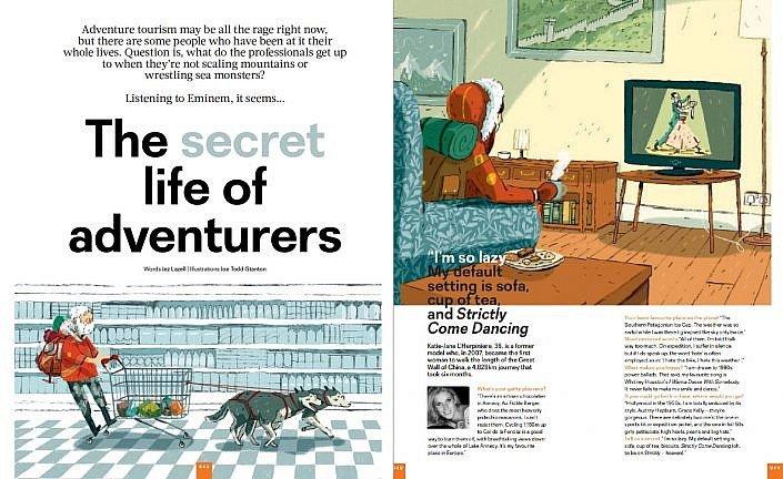 Easyjet - Secret life of adventurers