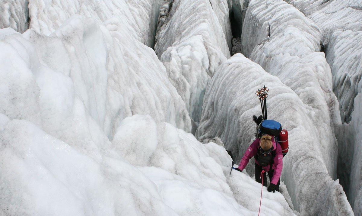 Katie-Jane L'Herpiniere Mountaineering
