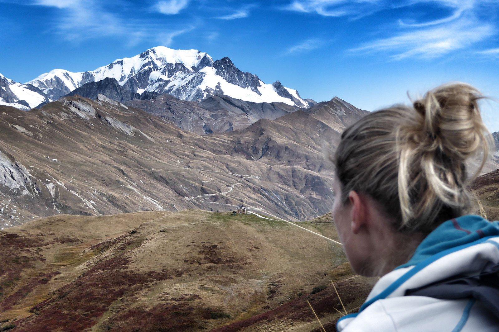 Views of Mt Blanc