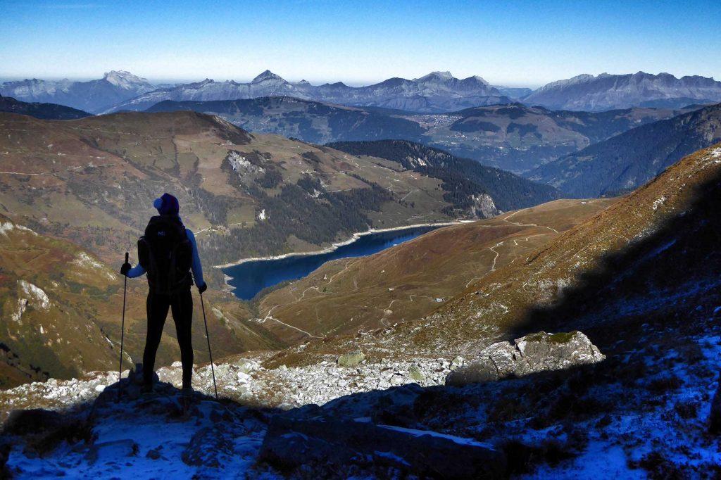 Hiking in Beaufortain