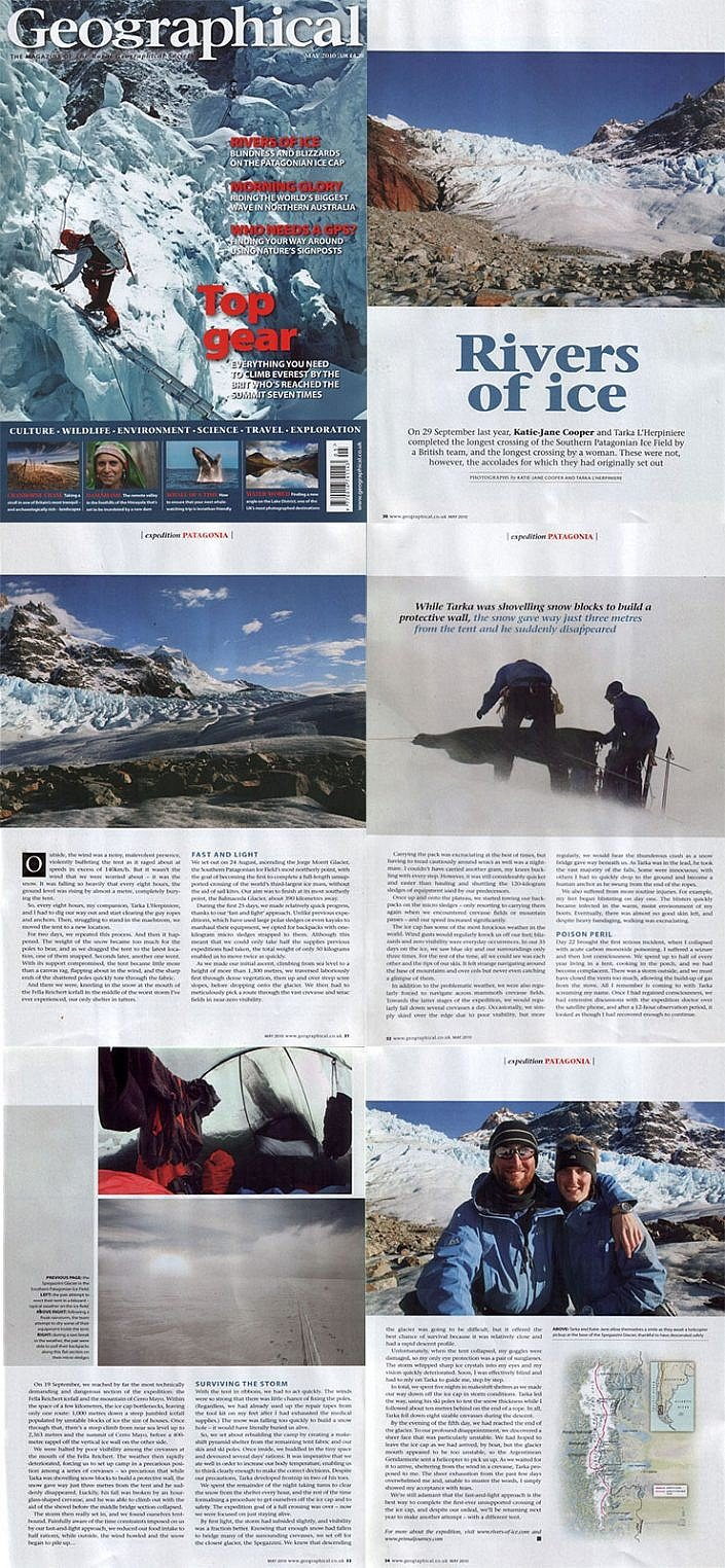 Geographical Magazine 2009