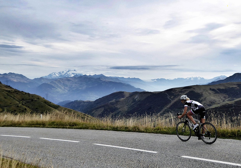 Katie-Jane L'Herpiniere Cycling
