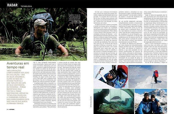 Outside Magazine 2009