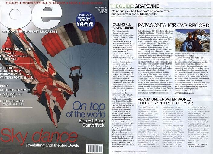 Outdoor Enthusiast Magazine 2009
