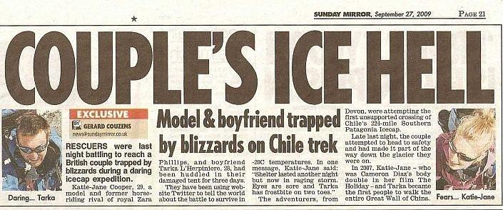 Sunday Mirror 2009