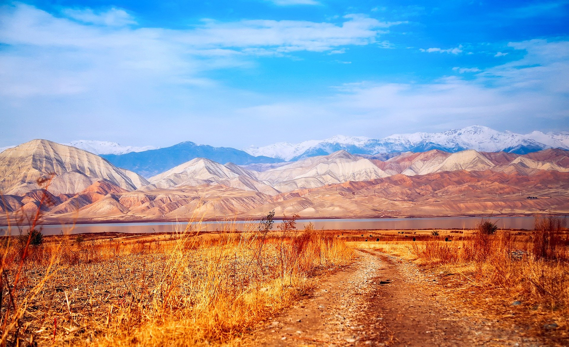 Goals for 2018 - kyrgyzstan dirt roads