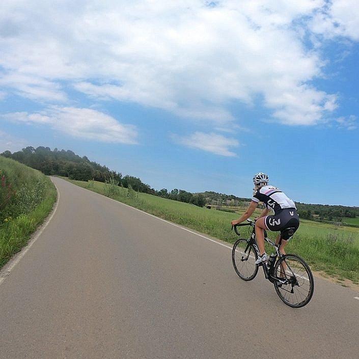 Empty Girona Roads