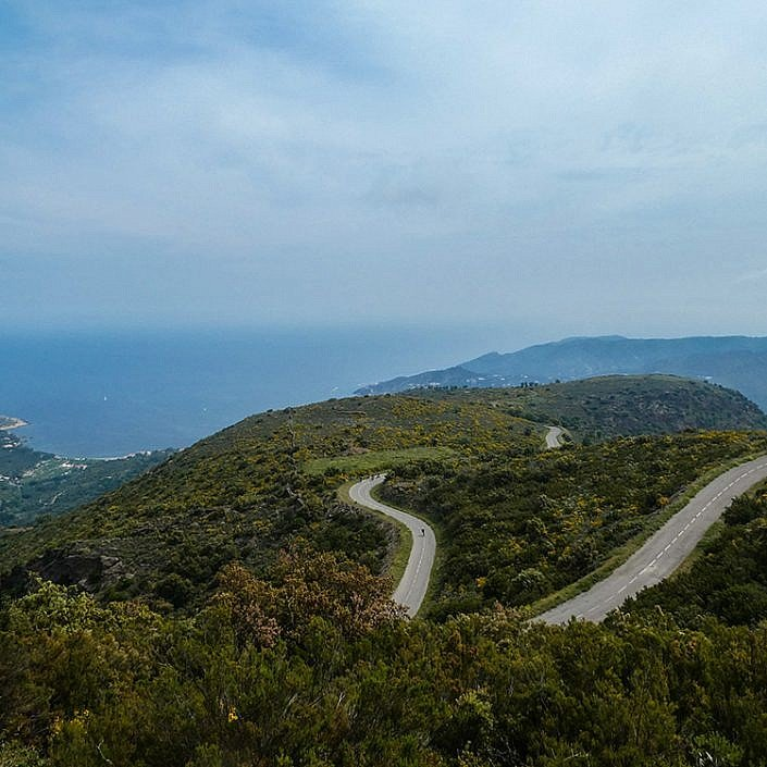 Switchbacks in the Cap de Creus