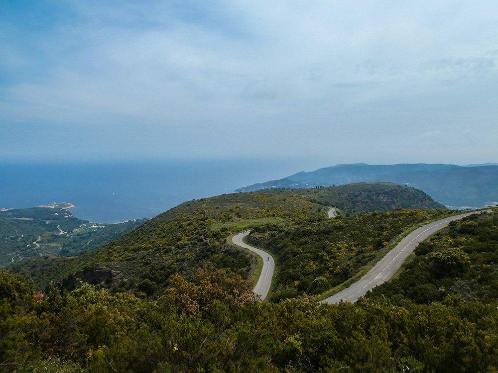 Switchbacks in the Cap de Creus