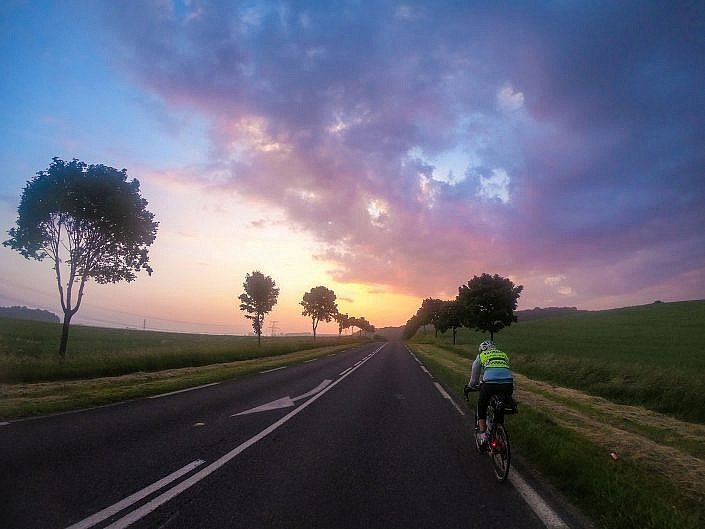 Cycling into the sunset Stage 2