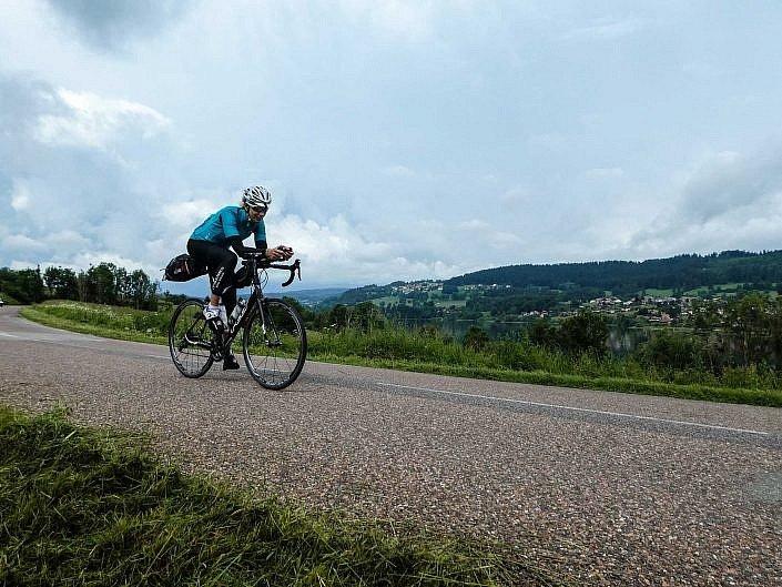 Cycling through the Jura Mountains