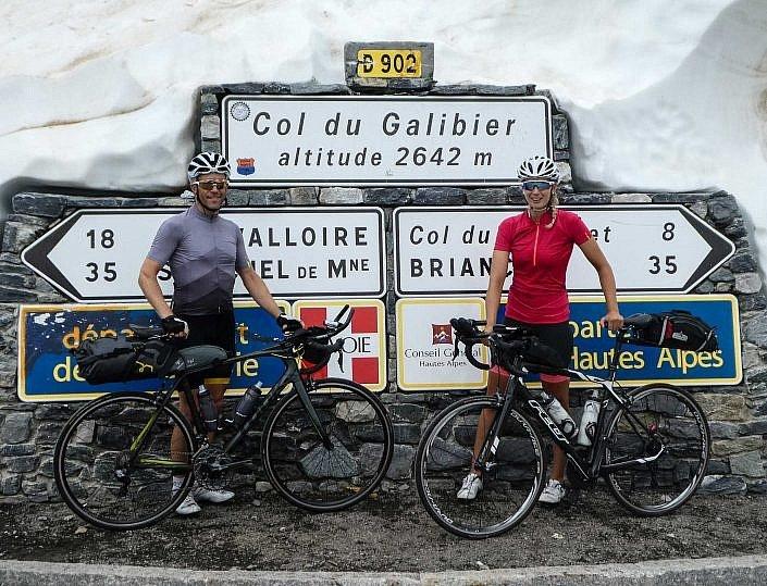 Summit of the Col du Galibier