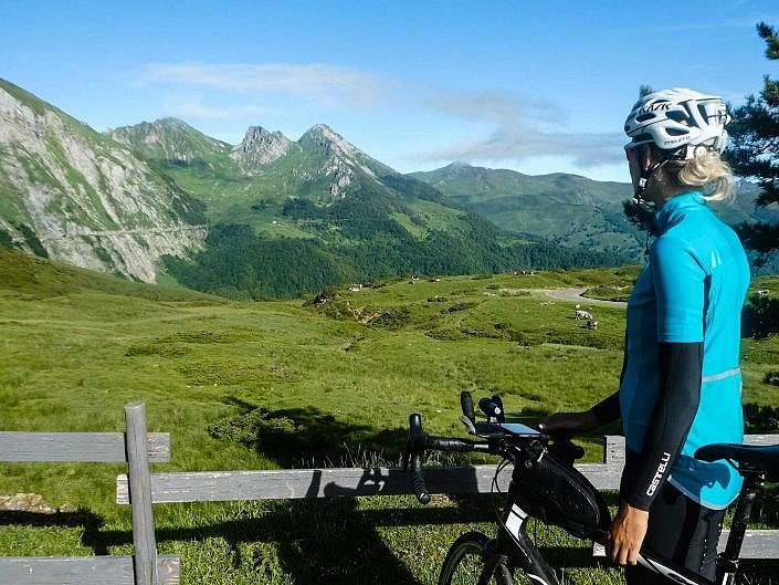 View of the Col d'Aubisque
