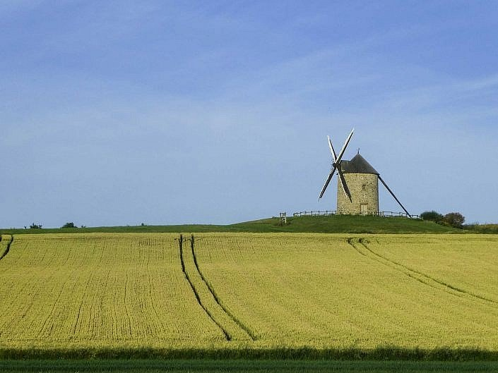 Windmill in Normandy Stage 13