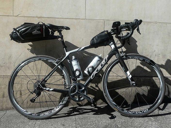 Katie's bike set up