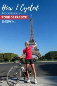 Katie-Jane L'Herpiniere by the Eiffel Tower