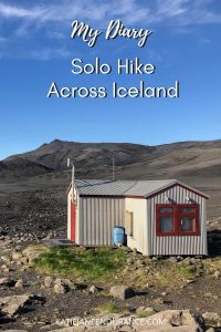 Hikers hut in Iceland