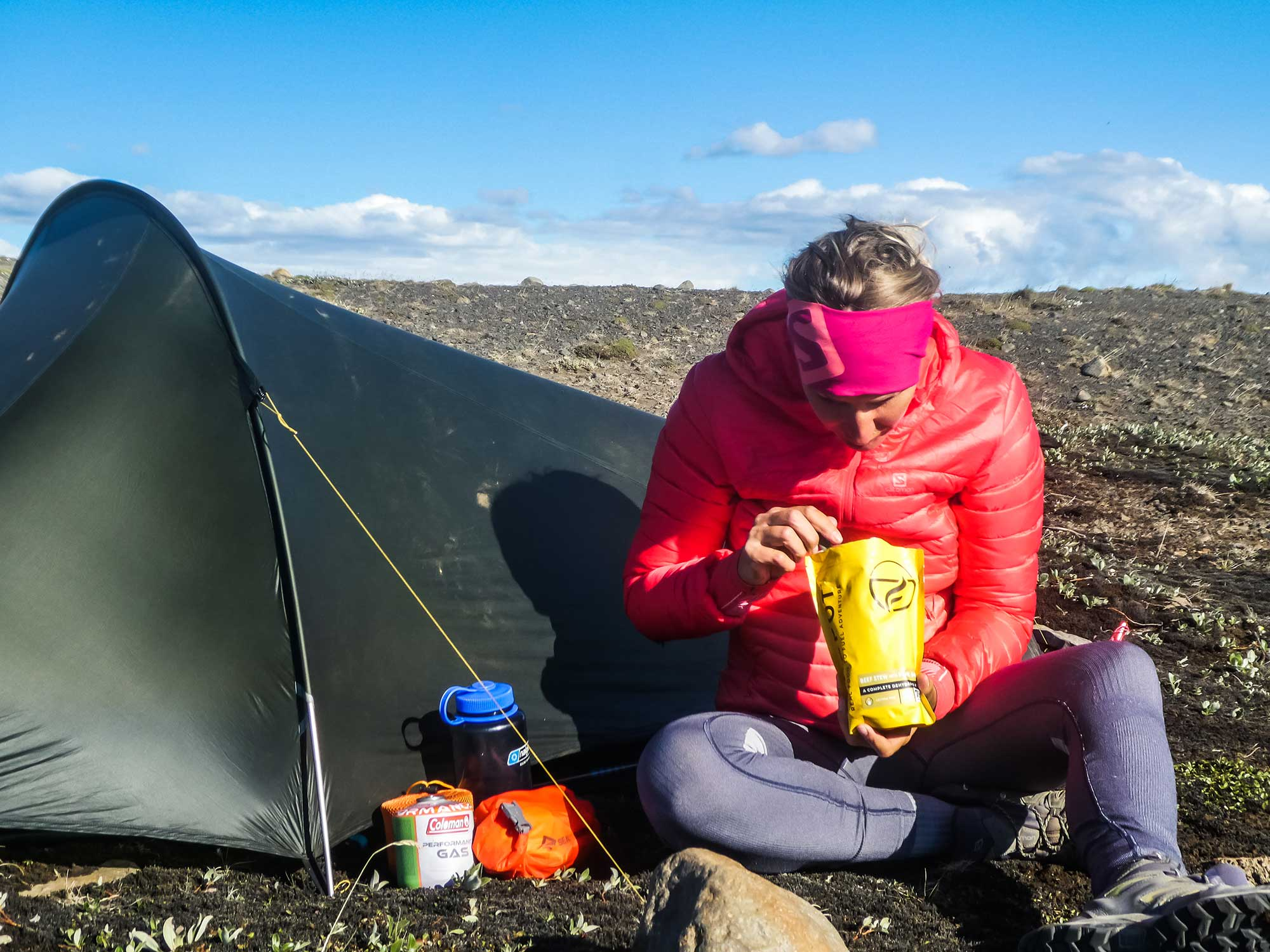 wild camping in Iceland